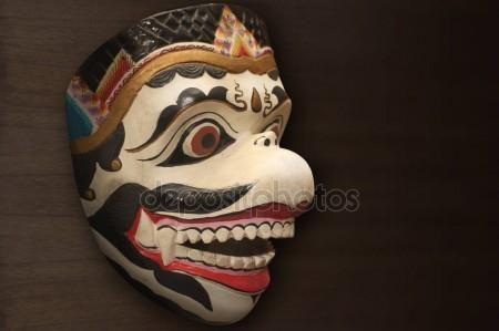Hanuman mask characters