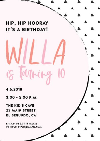 Whimsical Willa Invite By Paper Etiquette