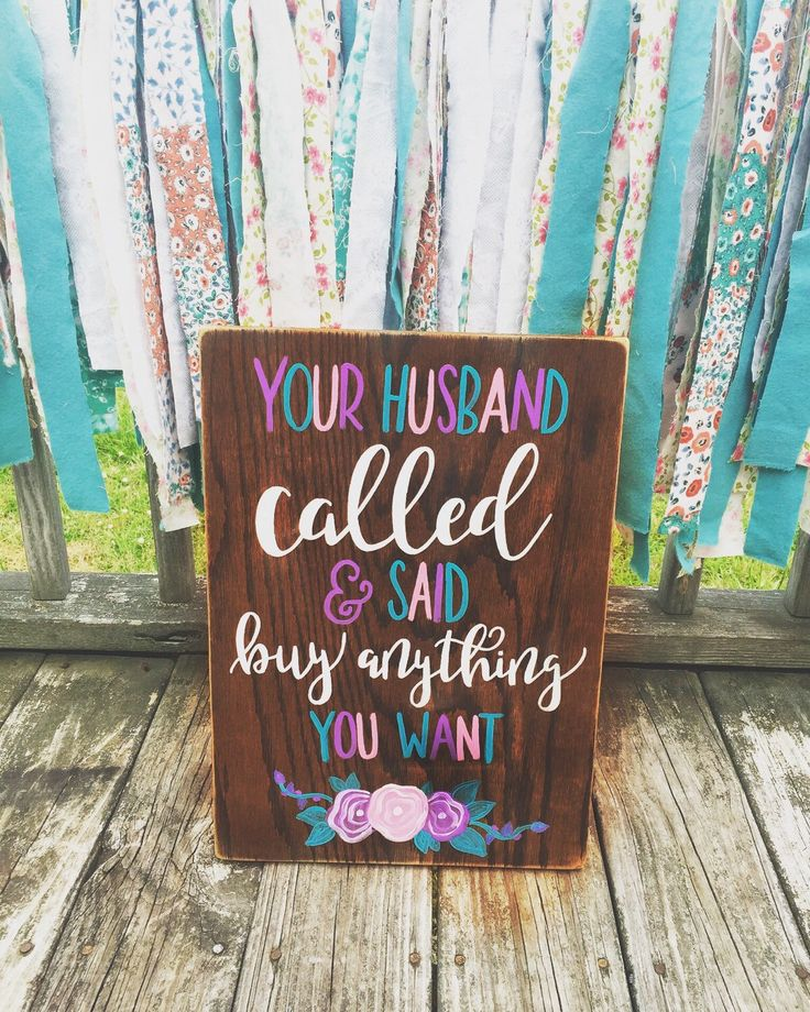 Your Husband Called & Said Buy Anything You Want by BandPCustomWoodSigns on Etsy https://www.etsy.com/listing/280230850/buy-anything-you-want - Lularoe Signs/Boutique Sign/ Shop Decor/ Store Decor