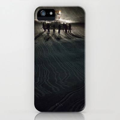 Epic cat light at Nine Knights 2014 iPhone & iPod Case by Håkon Jørgensen - $35.00