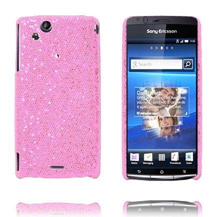 Victoria (Lyse Rosa) Sony Ericsson Xperia Arc Deksel