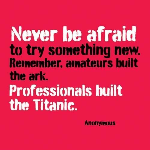 Try Something New Quote