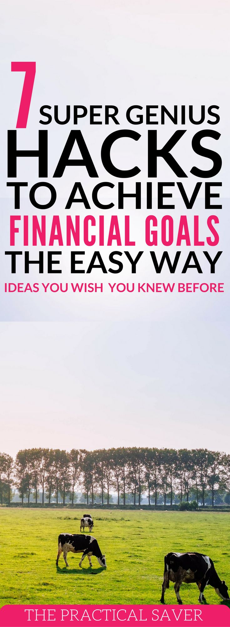 New year, new personal finance goals. Learn how to achieve your financial goals the easy way. From making money online to stock market investing, find out how you can make those happen. money hacks l personal finance tips l budgeting tips l financial free