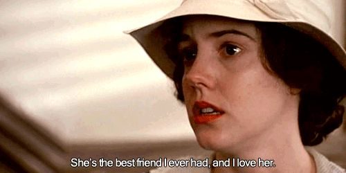 She's the best friend I ever had, and I love her. Best moment in Fried Green Tomatoes.