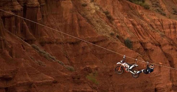 Hard core rider