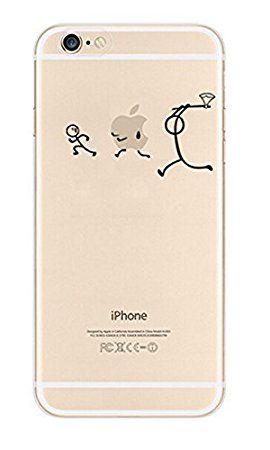 NOVAGO Elegante funda - gel de silicona irrompible - para iPhone 5 / 5S (persecución): Amazon.es: Informática