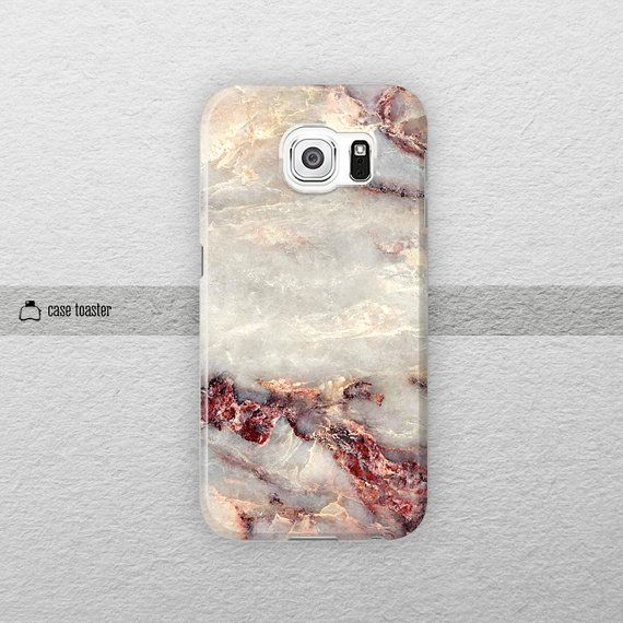Marble Galaxy S7 case Galaxy S6 case Samsung by CaseToaster