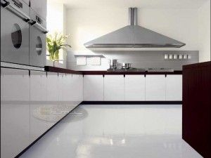 Awesome Marble Floor Kitchen Contemporary Home Decorating Ideas
