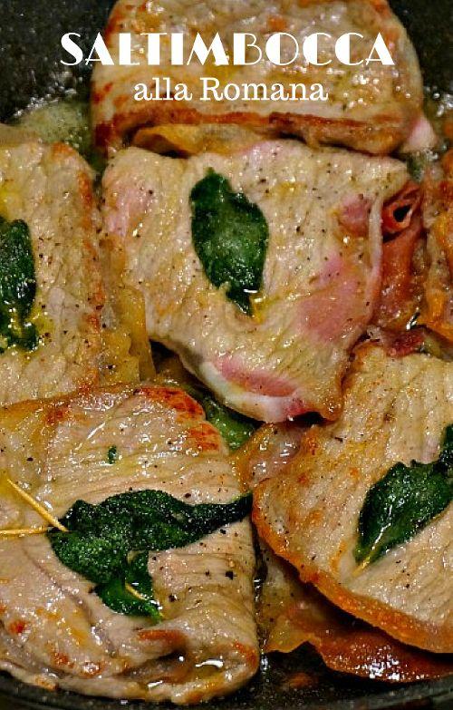 saltimbocca recipe