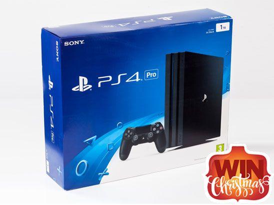 Win a PS4 Pro 1TB Console