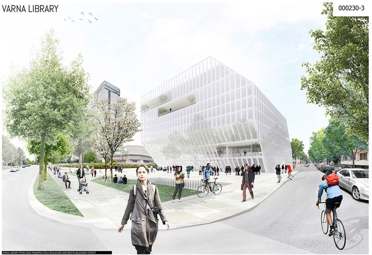 Library of Varna  Project by: YTAU, France