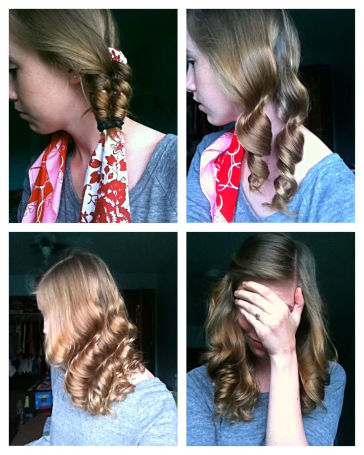 Bandana curls! I LOVE how these turned out! Super easy.... 1.all twisted up, just spritzed them with water and let air dry.  2. When I first untwisted them.<3 3. Shook them out!!! Adore!! 4. After several hours!  New favorite style! =)