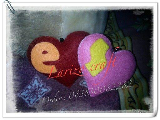 Love #flanel#felt#handmade