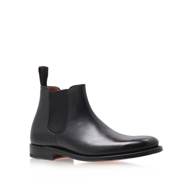 grace black flat chelsea boots from Grenson