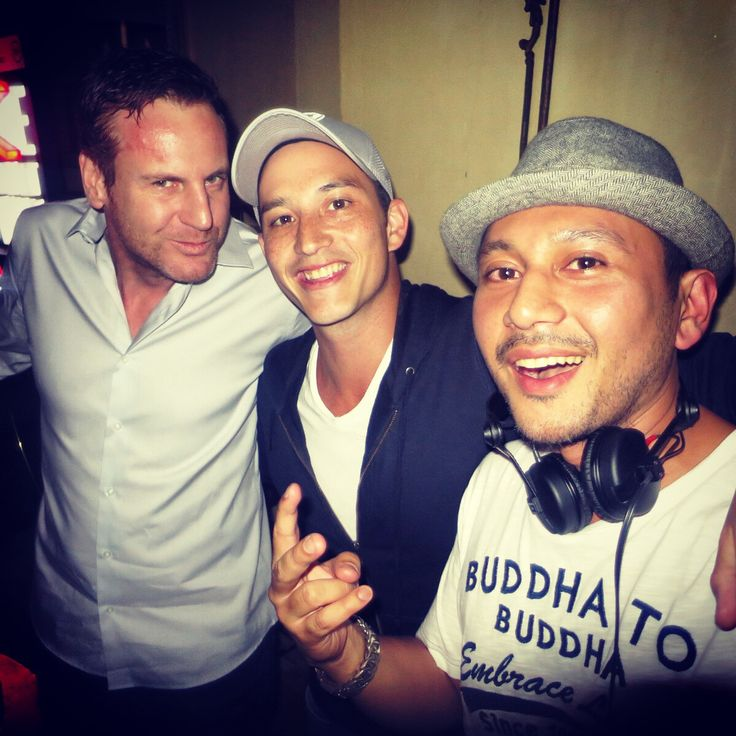 Triple mike action... @bauhausjakarta #latepost