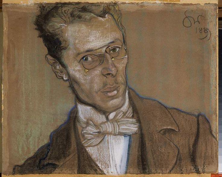 Portret Wincentego Parviego, Stanisław Wyspiański