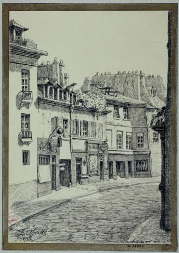 N° 23 - 25 - 27 Rue Broca ancienne Rue de Lourcine démolis en 1896 | Paris Musées