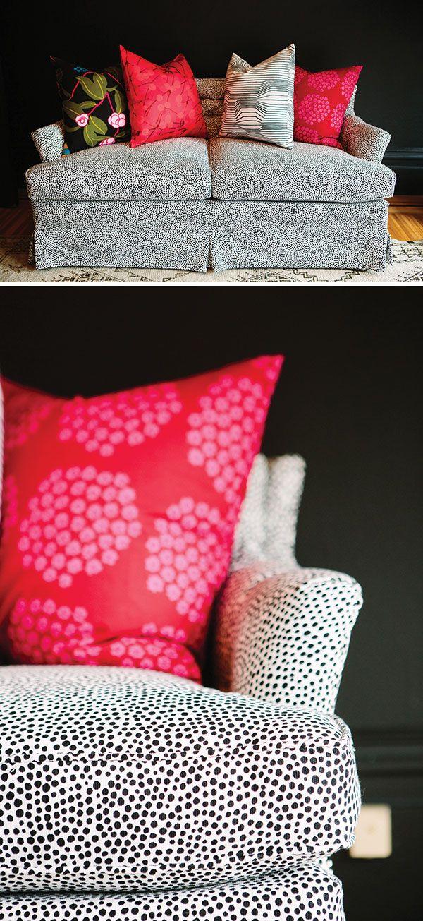 Our Sofa Makeover | Oh Happy Day! #marimekko