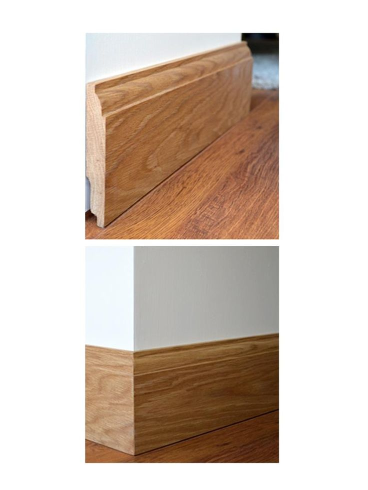 Ovolo Solid Oak Skirting Boards - 3m