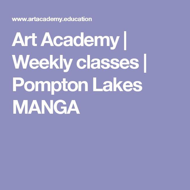 Art Academy | Weekly classes | Pompton Lakes MANGA
