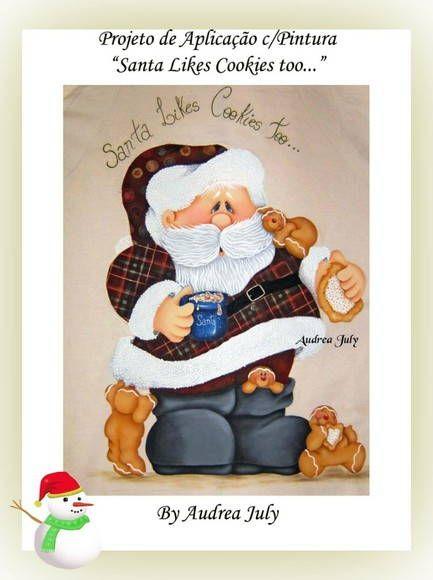 Santa likes cookies too...