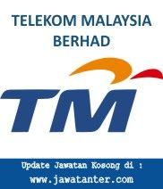 Jawatan Kosong Telekom Malaysia Berhad   Jawatan Kosong Telekom Malaysia Berhad-Telekom Malaysia Berhad merupakan syarikat telekomunikasi terbesar di Malaysia dan ketiga terbesar di dunia. TM memegang hak monopoli untuk penyediaan rangkaian telefon talian darat serta mempunyai pegangan yang kukuh dalam pasaran komunikasi telefon mudah alih setelah mengambil alih Celcom Berhad dan menggabungkannya dengan perkhidmatan mudah alih sendiri TMTouch. Untuk meningkatkan kinerja Telekom Malaysia…