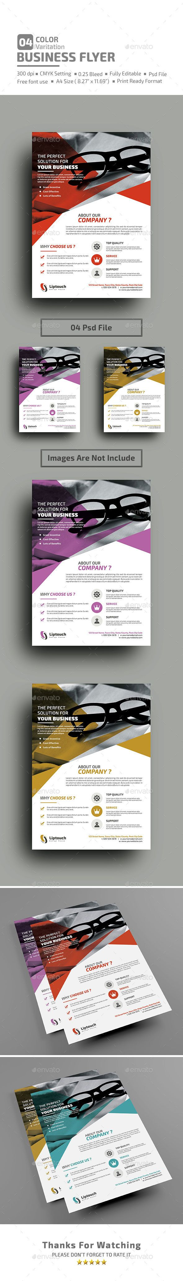 Multipurpose Business Flyer Template PSD