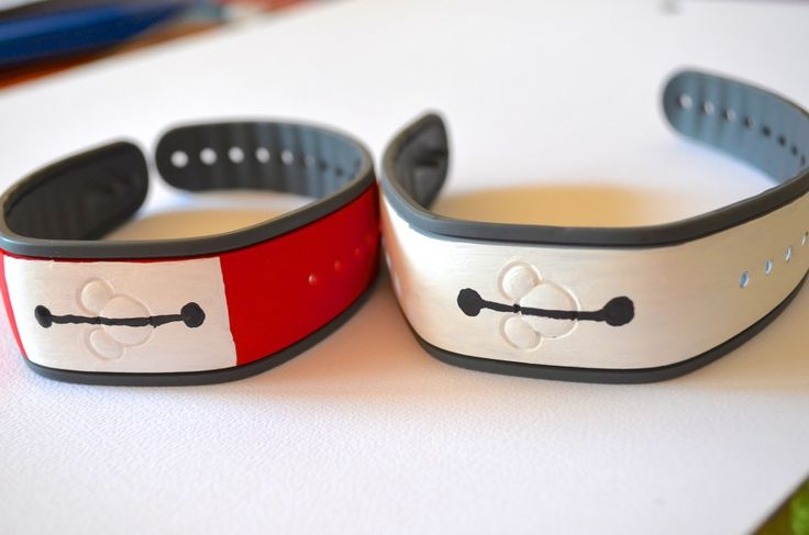 DIY Disney Big Hero 6 Baymax Magic Band Decoration Design