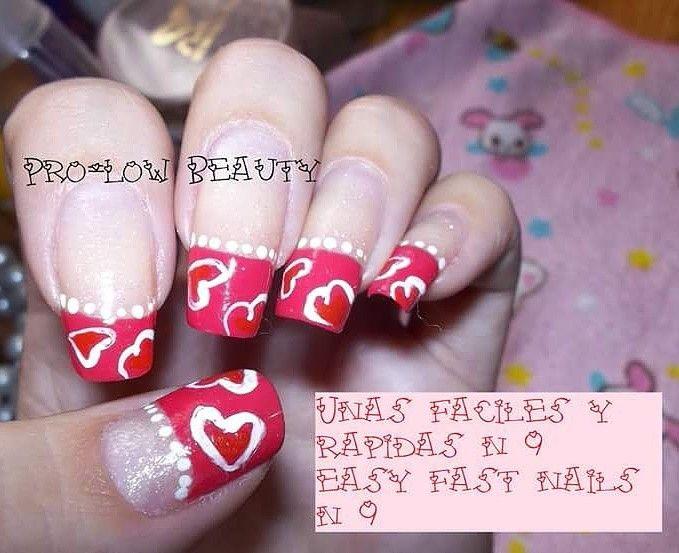 Mejores 36 imágenes de Uñas fáciles y rápidas / East fast nails en ...