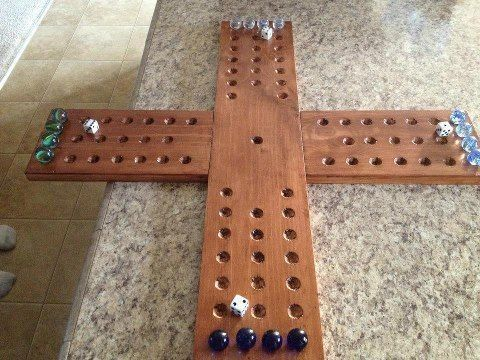 Large 4 Player Aggravation Board Game