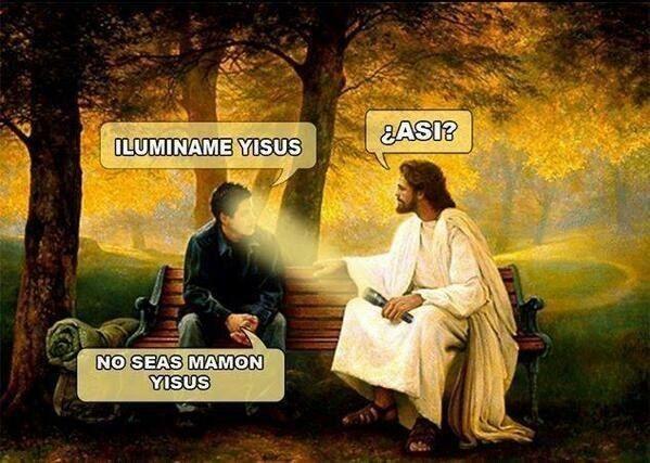 Jesús hace lo que quiere. | 31 Memes de Jesús que fueron creados en el mismísimo infierno
