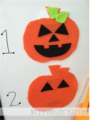 Miss Kindergarten: Build a Jack-o-lantern {classroom management idea} Each table earns a part of the jack-o-lantern face instead of a table point!