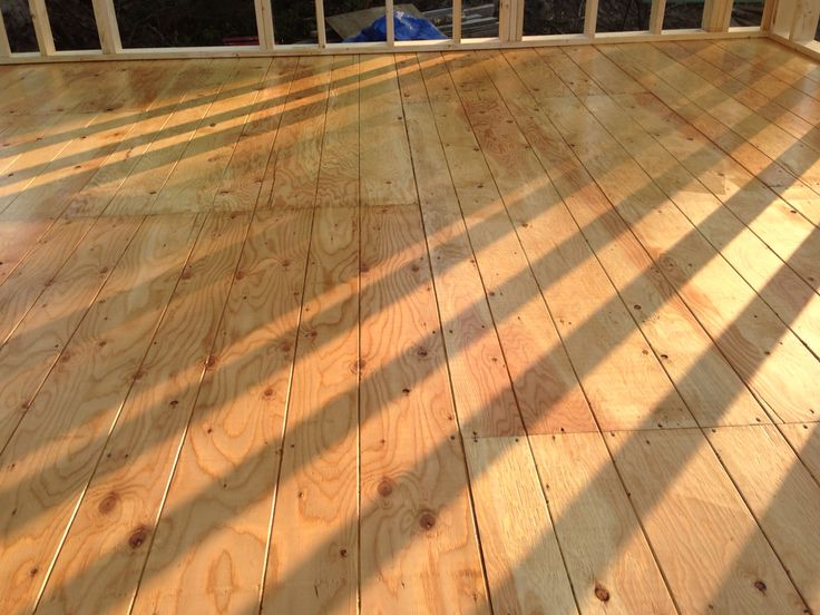 Faux hardwood floors
