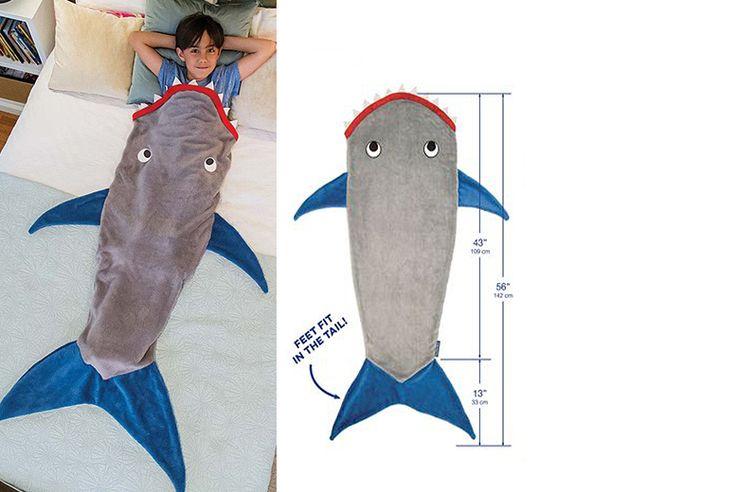 Kids' Shark Tail Blanket