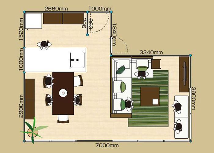 部屋の快適な家具配置とレイアウト例 1ldk 2ldk 3ldk Ldk