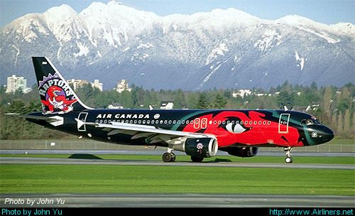 Airbus A320-211 aircraft picture Air Canada