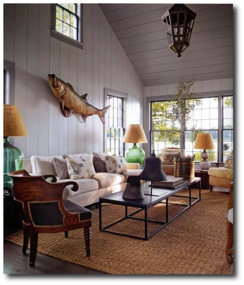 Get The Colonial Look  Designer Steven Gambrelu0027s Sag Harbor Home    Beautiful Color Schemes U0026