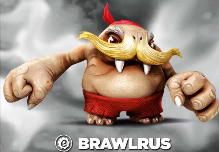 Skylanders Trap Team  Brawlrus