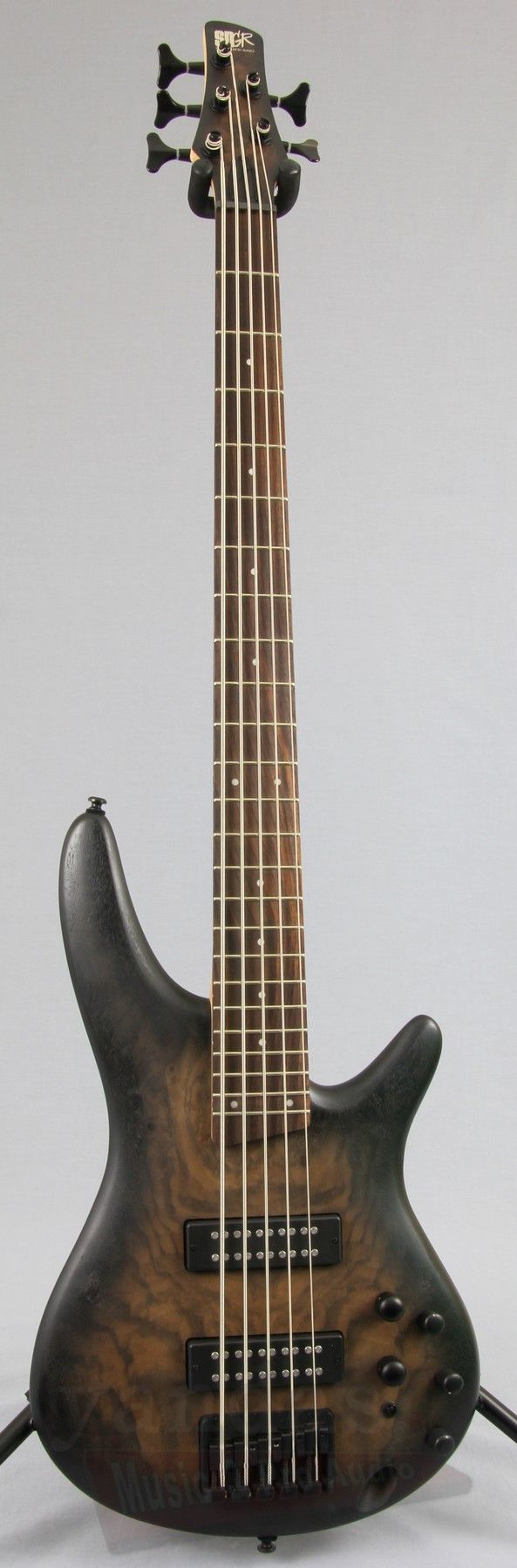 Ibanez SR405EBCW 5-String Bass Guitar - more on www.guitaristica.org #bassguitar #guitars #guitaristica