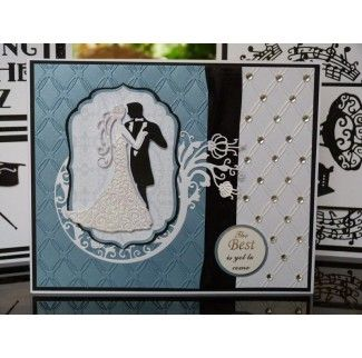Tattered Lace Dies - Couple