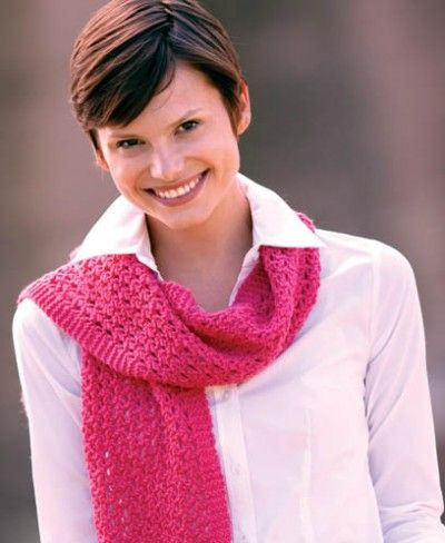 Free Universal Yarn Pattern : Miracle Scarf by Rick Mondragon