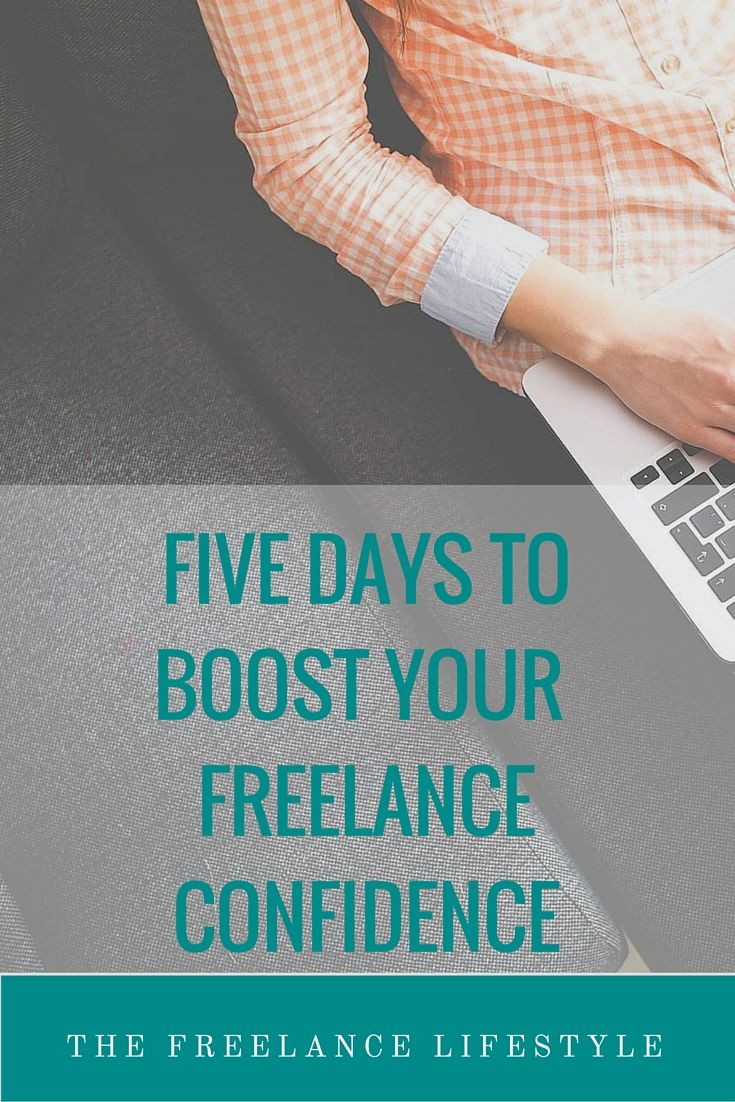 Five days to boost your freelance confidence   £5 E-Course - The Freelance Lifestyle School