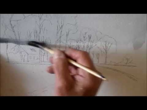 A simple watercolor - YouTube