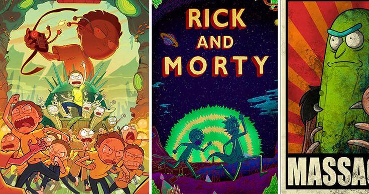 Voici une sélection de 35 fonds d'écran PC et Smartphones pour les fans de la série animée Rick & Morty