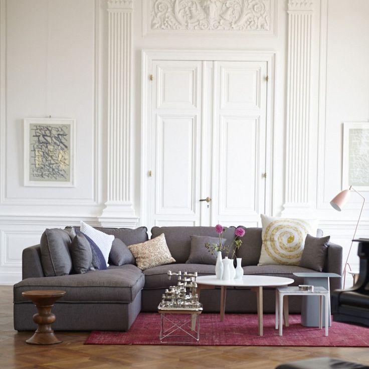 misso sofa mit longchair links living room pinterest wohnzimmer. Black Bedroom Furniture Sets. Home Design Ideas