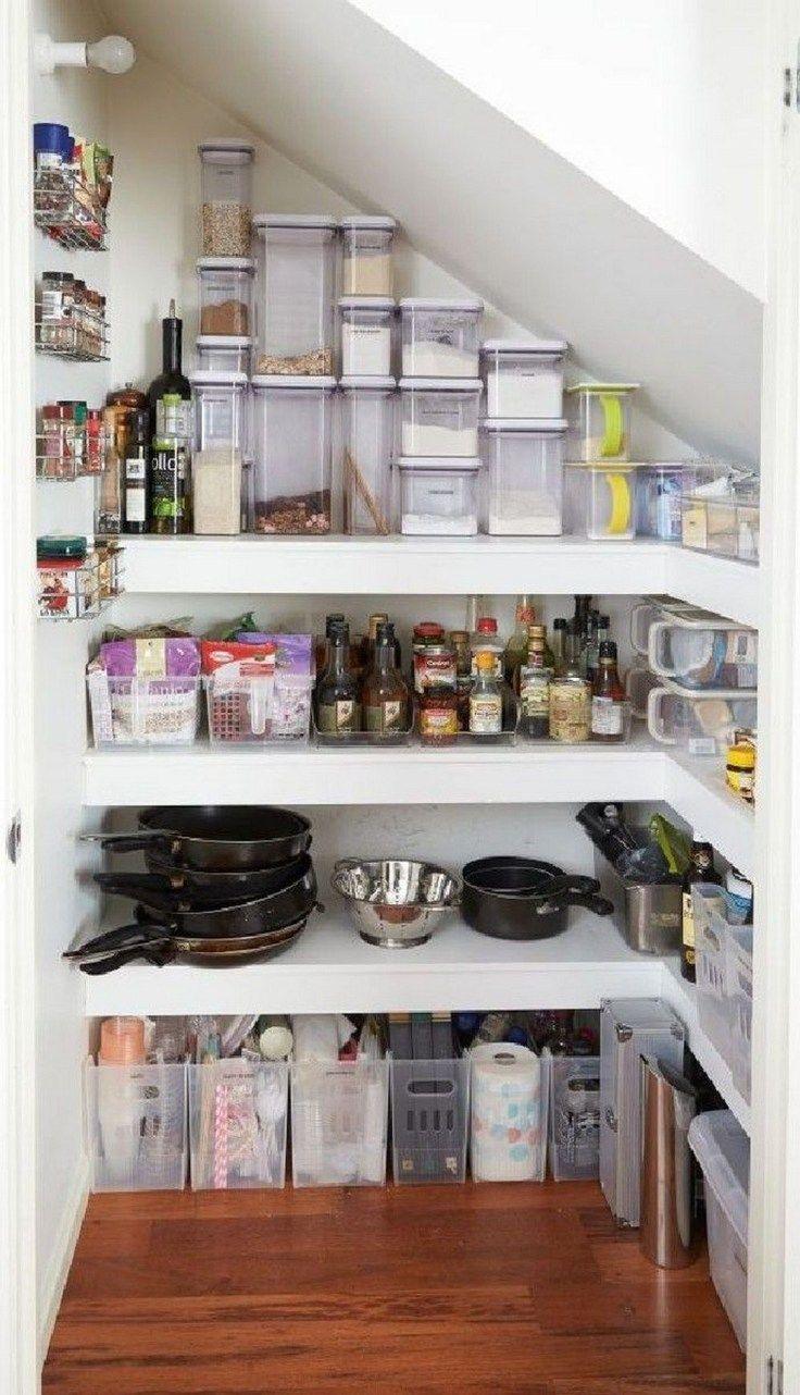 34 Affordable Kitchen Storage Ideas Kitchen Pantry Cupboard Stairs In Kitchen Shelving Design
