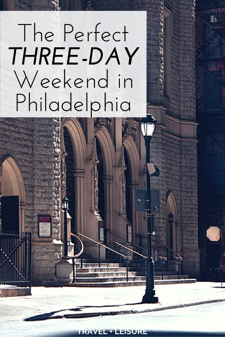 Conveniently positioned between New York City and Washington, D.C., Philadelphia is an easy-to-reach destination perfect for a quick vacation.