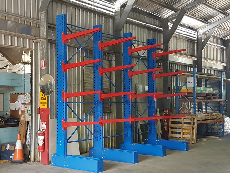 Light or Heavy Duty, Single-sided or Double-sided even Powder-coated or Hot Dip Galvanised... The Rack'n Stack Warehouse can provide you with a Cantilever Racking System to suit your needs. #Cantilever #Systems  #Storage #Solutions