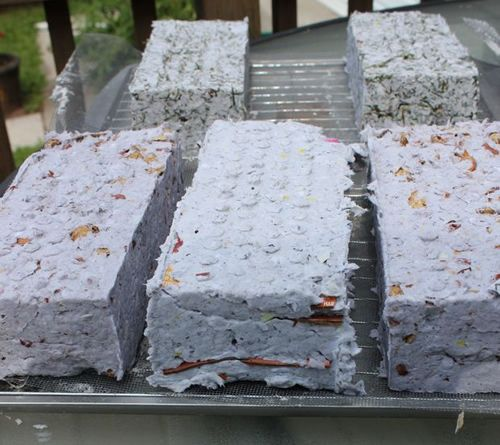DIY Sun Dried Paper Briquettes - for fuel... #diy #homestead #homesteading