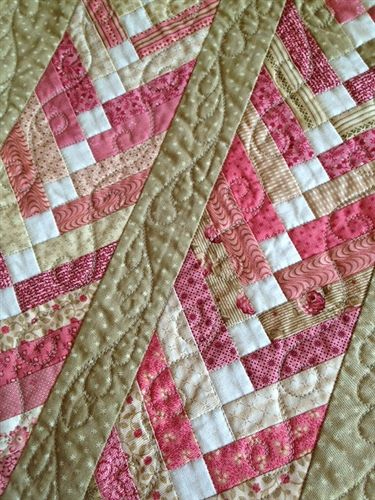APQ French Twist Starter Quilt Kit Could make it smaller and use it as a table runner.